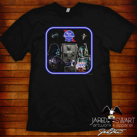 Star Wars PBR parody mashup t-shirt #2
