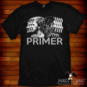 "Primer T-shirt inspired by the 2004 indie time travel movie ""Primer"""