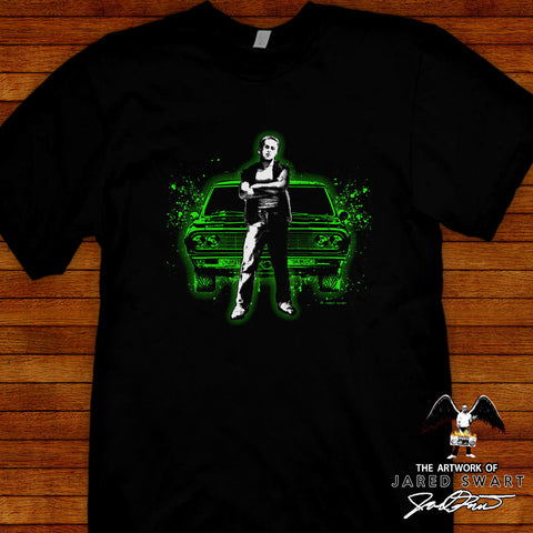 Repo Man Tee by Jared Swart artwork & apparel