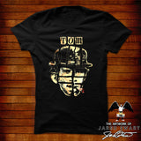 Tom Waits designer tee original artwork by Jared Swart