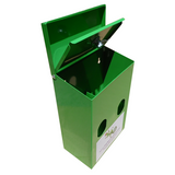 Double Roll / Locking Dog Waste Bag Dispenser - Free Shipping - DogBagsandMore.com