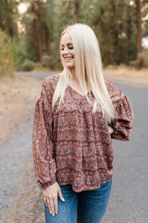Woodland Fairytale Peasant Top - Flair and Company