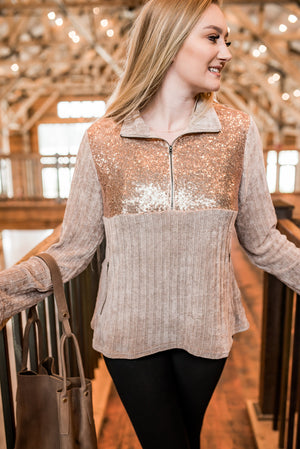 You're The Best Chenille Pullover - Flair and Company