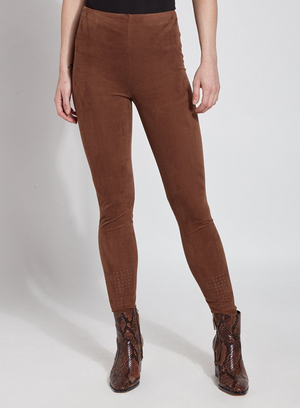 Laser Cute Ultra Suede Lysse Leggings - Flair and Company