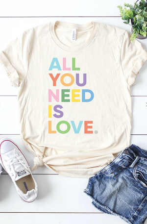 All You Need is Love Tee - Flair and Company
