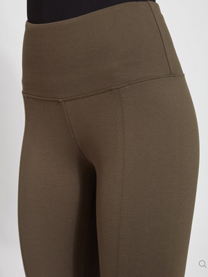 Olive Ponte Legging by Lysse - Flair and Company