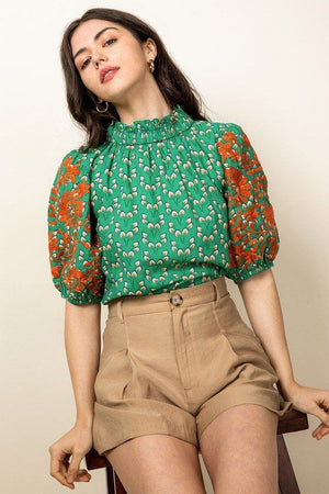Sophia Embroidered Blouse