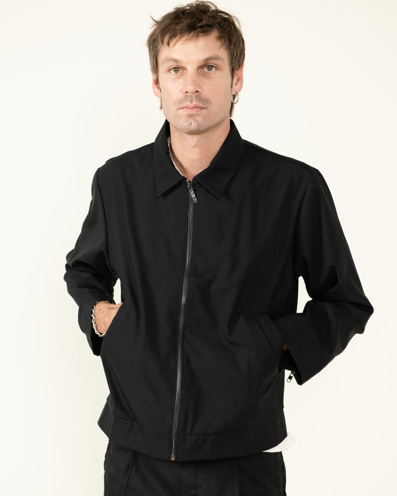 LIGHT WEIGHT WOOL JACKET
