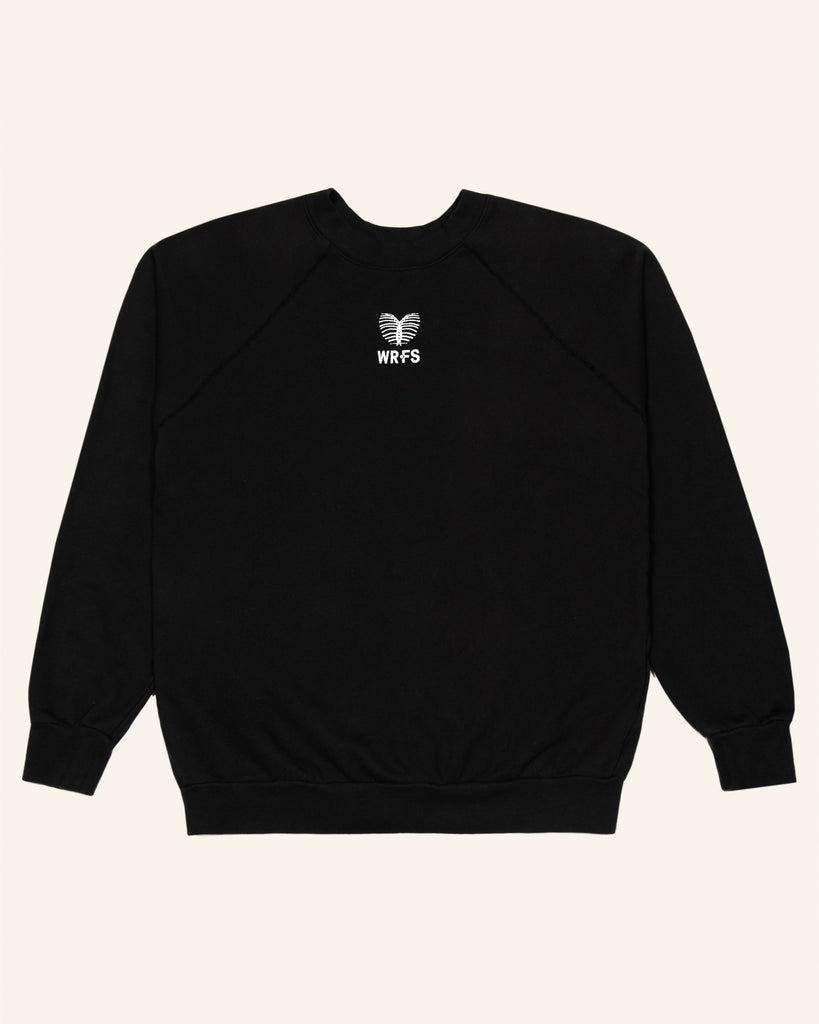 FRENCH TERRY 'HEART' PULLOVER