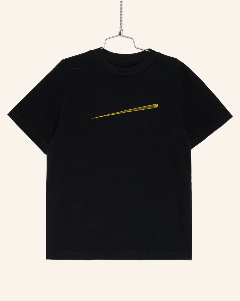 HEAVYWEIGHT 'SPUTNIK' TEE BLACK