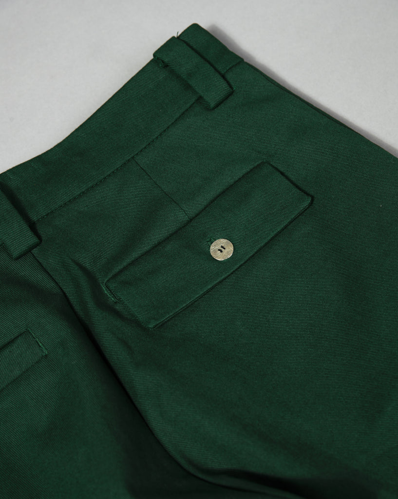 HEAVYWEIGHT TWILL TROUSER PINE