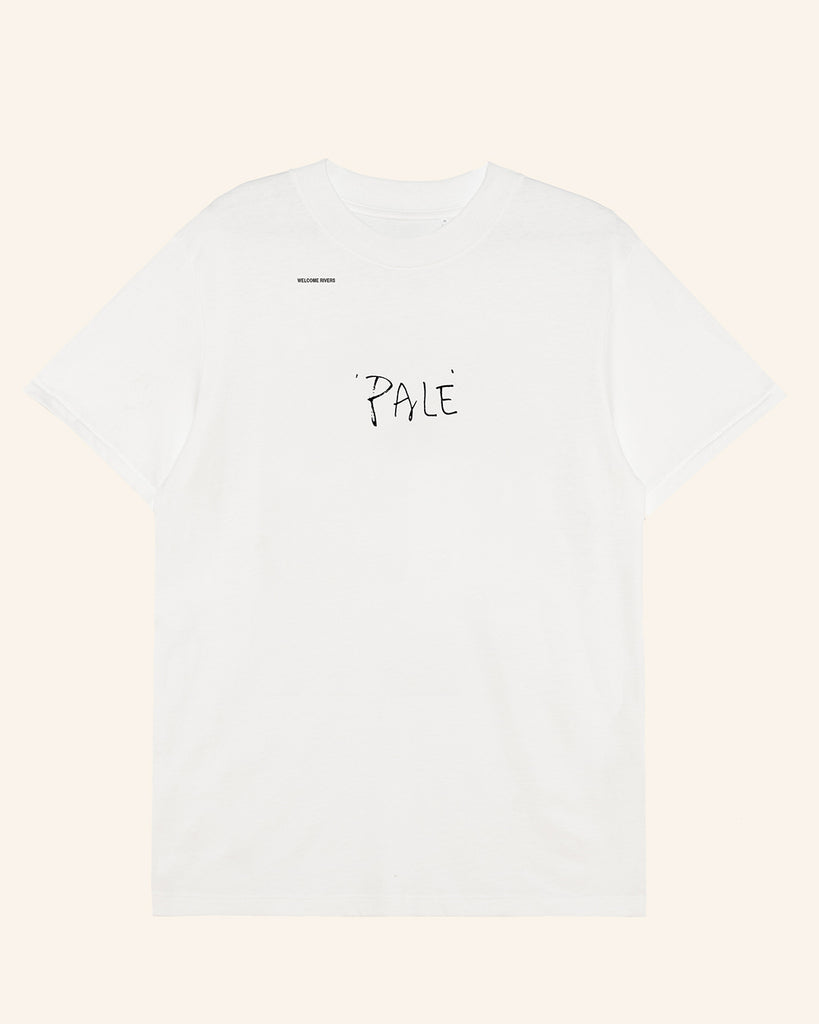 HEAVYWEIGHT 'PALE' TEE CLOUD