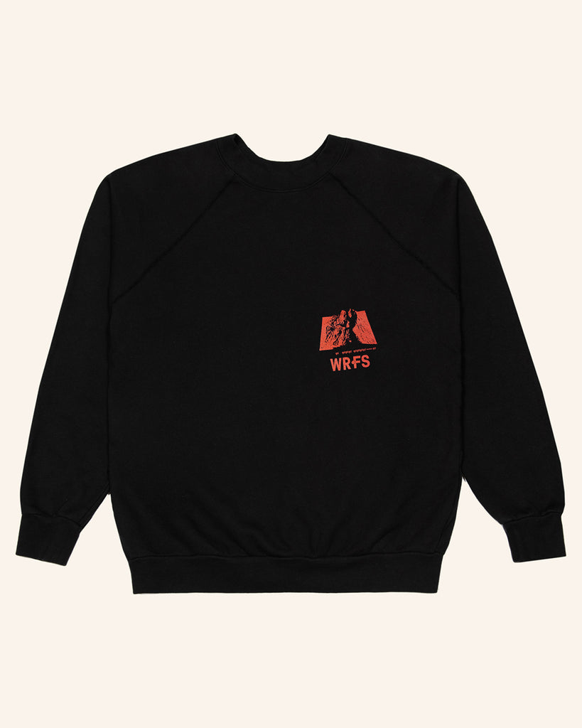 FRENCH TERRY 'PROPER CARE' PULLOVER