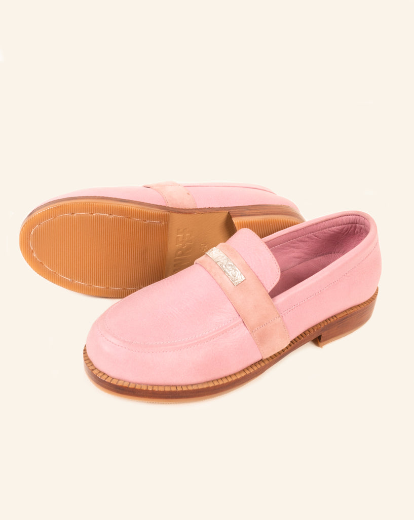 LEATHER LOAFER BLOSSOM
