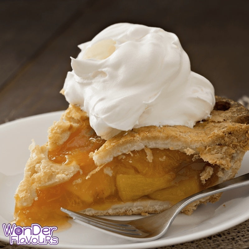 Peach Pie & Cream