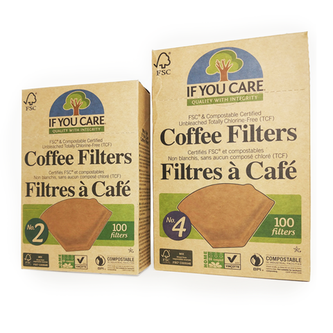 Filtres à café compostable | Compostable Coffee Filter