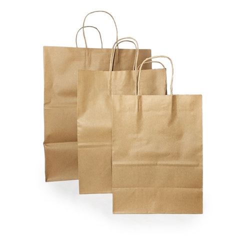 Sacs compostables en papier  | Compostable Paper Bags (Jute Handle)