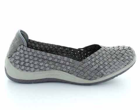 CC Resorts Sugar Pewter Womens Elastic Causal Shoe (pwsuga)