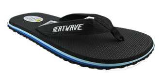 Heatwave Flair Thong Black/Blue Men's & Kids Thongs / Flip Flops