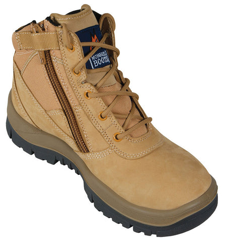 Mongrel Boots SP ZipSiders 261050 - Wheat ZipSider Work boot (low cut) (wojohn)