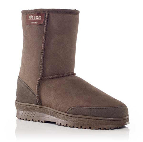 Wild Goose Premium Ugg Boot, Genuine Australian Sheepskins, Chocolate