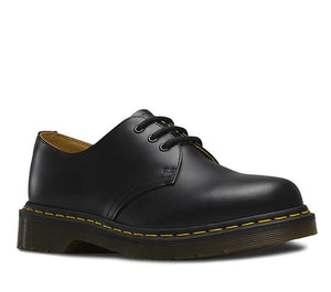 Dr Martens 11838002 1461 BLACK SMOOTH 3 EYE Shoe Unisex