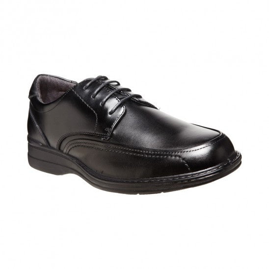 Hush Puppies Torpedo Black Mens Dress Shoe (bkteza)