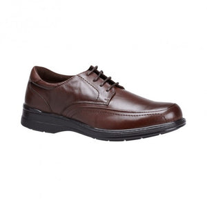 Hush Puppies Torpedo Teak/Brown Mens Dress Shoe (brteza)