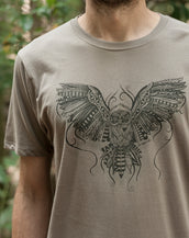 Owl Love - Organic Cotton Male T'Shirt