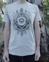 Cosmic Chaos - Organic Cotton Male T'Shirt