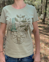 Garden Beingz - Organic Cotton Female T'Shirt