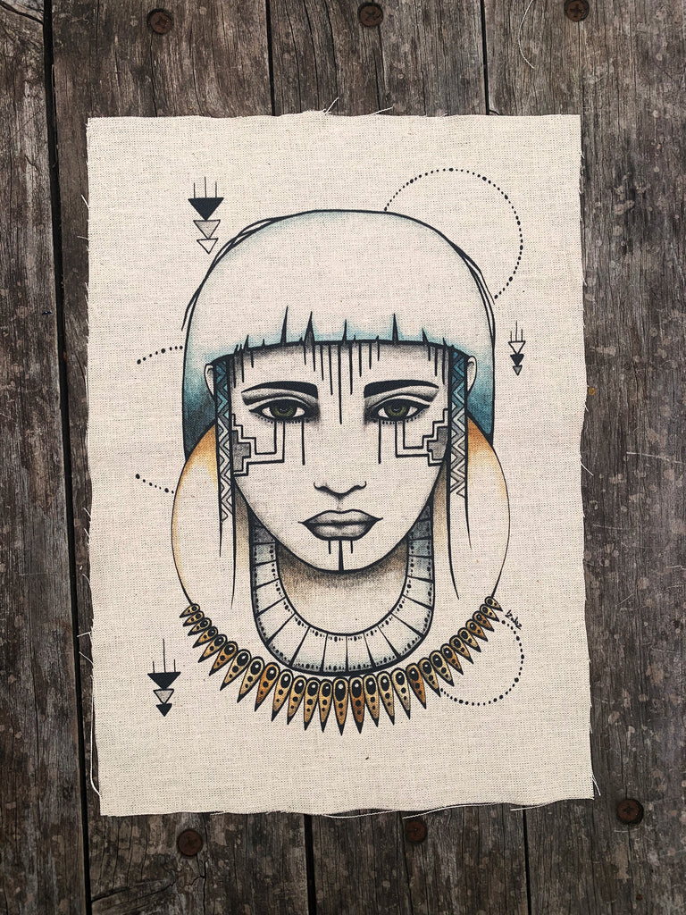 Allira - Fabric Patch