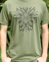 Wattle Portal V5 - Organic Cotton Male T'Shirt