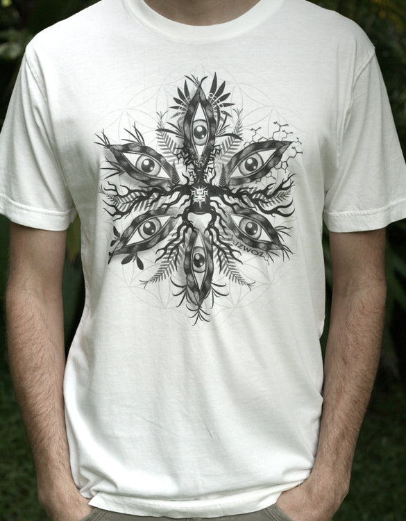 Acacian Eyes - Organic Cotton Male T'Shirt