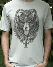 See Lion V1 - Organic Cotton Male T'Shirt
