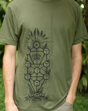 Tree of Life - Organic Cotton Male T'Shirt