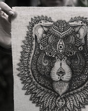 See Lion - Fabric Patch