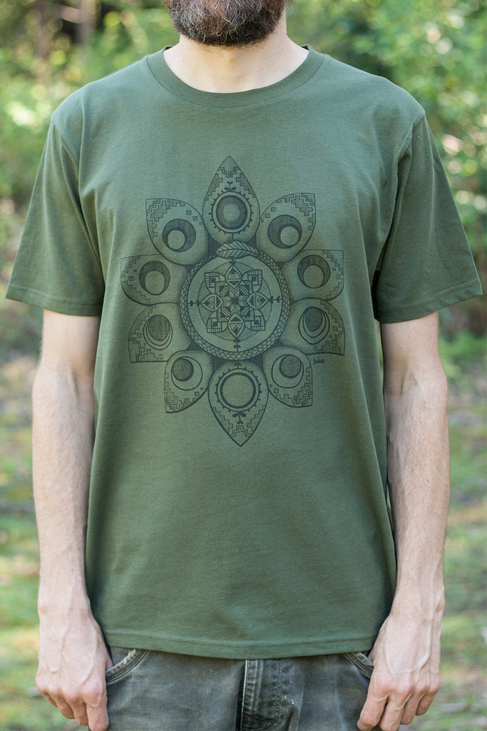 Lunaborea - Organic Cotton Male T'Shirt