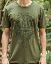 Sothic Skull - Organic Cotton Male T'Shirt
