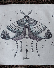 Moth Magik - Fabric Patch