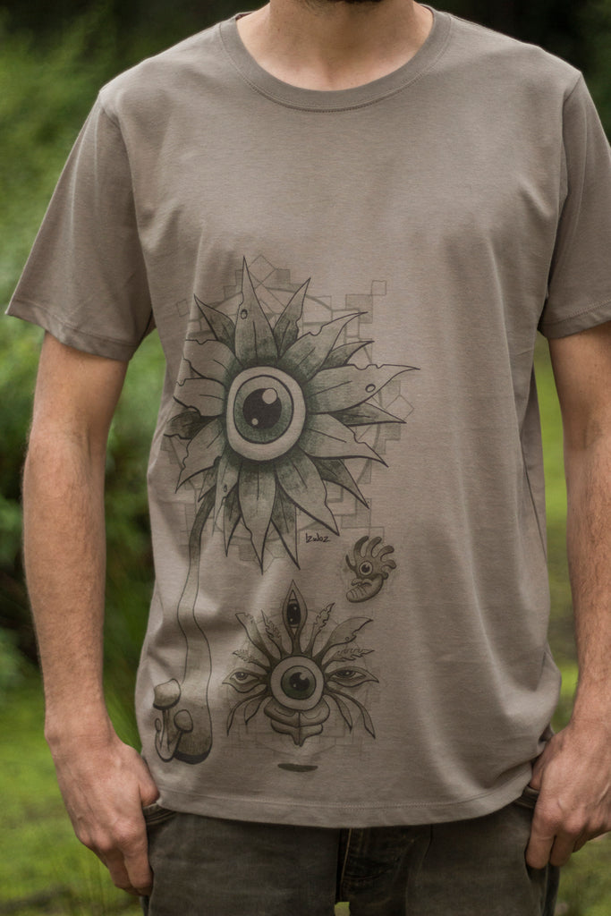 Eye See V2 - Organic Cotton Male T'Shirt
