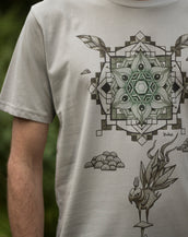 Leaf Tailed Bibbot - Organic Cotton Male T'Shirt