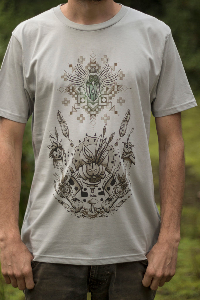 Wisdom Keeper - Organic Cotton Male T'Shirt