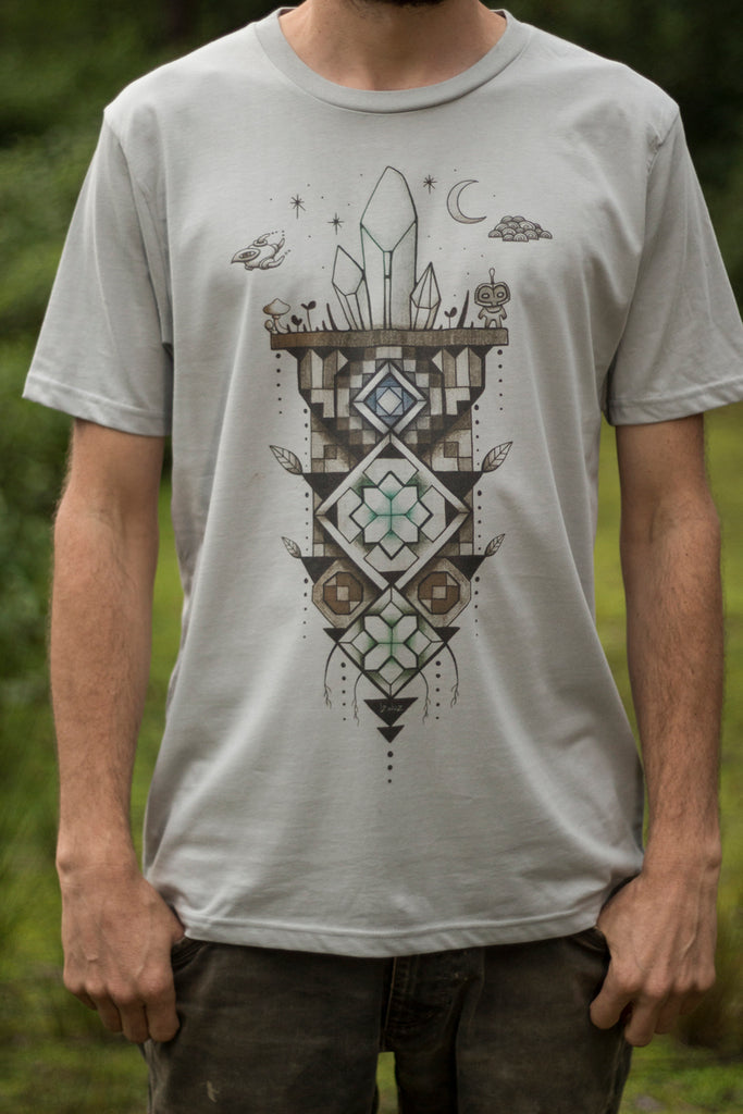 Island Catalyst - Organic Cotton Male T'Shirt