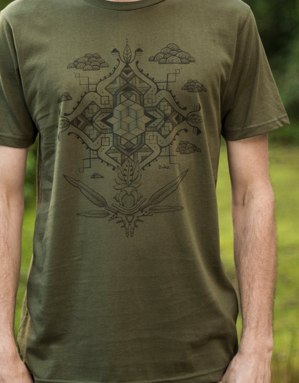 Piece of Mind - Organic Cotton Male T'Shirt