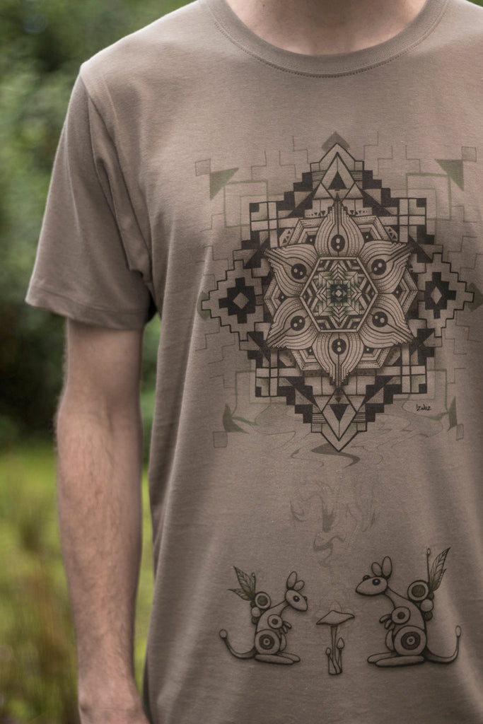 Wallaby Treats - Organic Cotton Male T'Shirt
