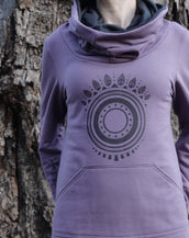 Seer Owls Female Hoodie - Purple