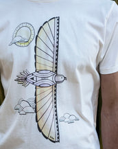 Feathered Flight - Organic Cotton Male T'Shirt