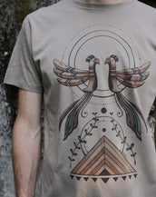 Weaving Worlds - Organic Cotton Male T'Shirt