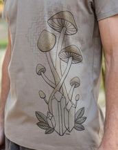 Mushrooms - Organic Cotton Male T'Shirt